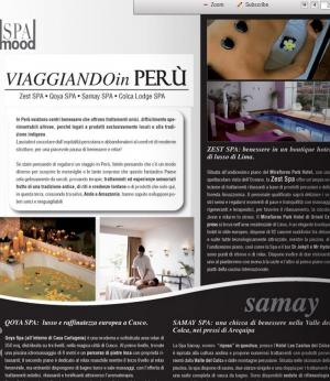 Italian Magazine Mood Spa Magazine ( 1 )