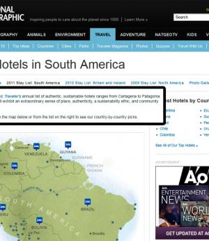 Best Hotels in South America - 3